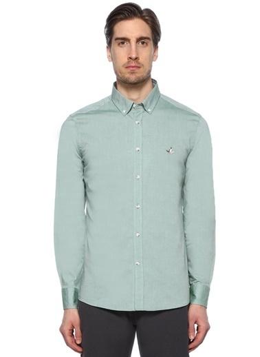 Beymen Club Uzun Kollu Gömlek Yeşil